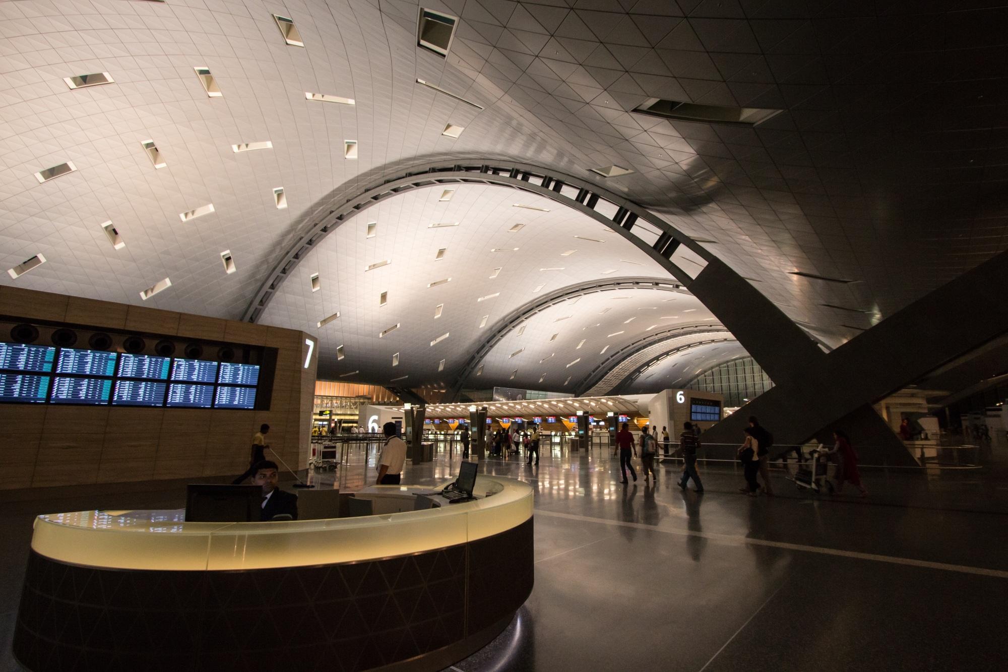 Escooh_Aeroporto internazionale Qatar